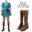 The Legend of Zelda Breath of the Wild Link Cosplay Costume Anime Uniform Halloween Carnival Cosplay Adult Men Blue Shirt Unisex 7