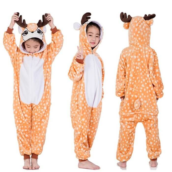 Kigurumi Pajamas Panda Children Girls Unicorn Pajama Boys Stitch Oneises Pijamas Unicornio for 4 6 8 10 12Years Stitch Costume 3