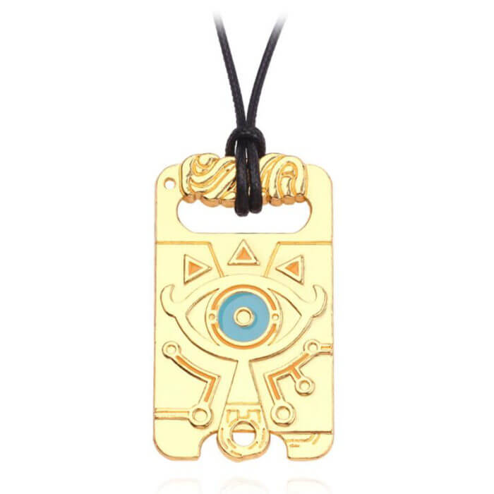 The Legend of Zelda Sheikah Slate Breath of the Wild Keychain Cosplay Pendant Keyring Key Chain Necklace 5