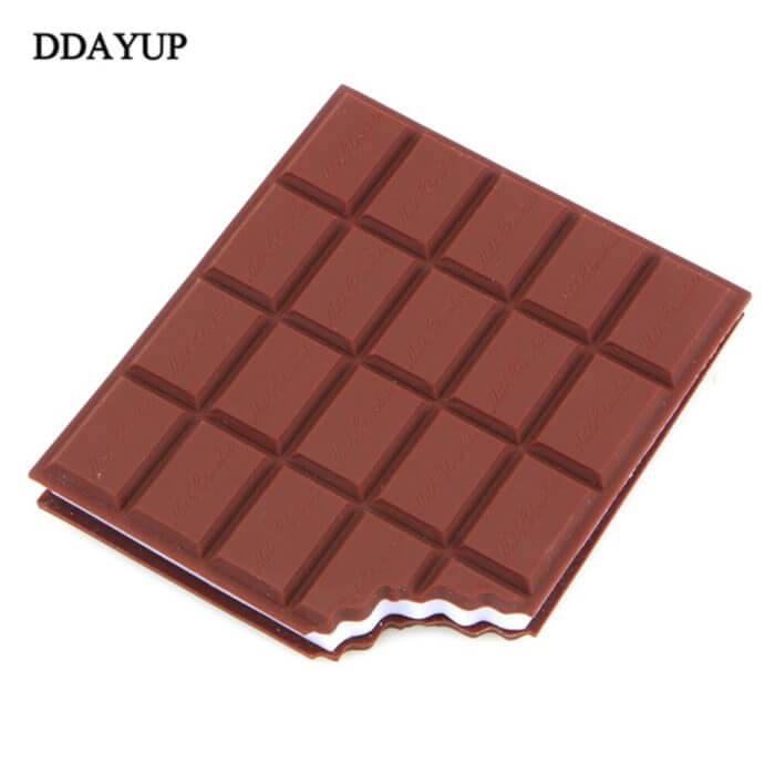 Chocolate Stickers kawaii Creative Sticker Diary High Quality Note Notebook Papeleria Office Supplies papeleria memo pad 2