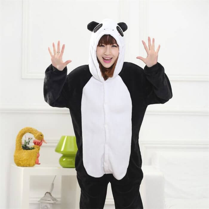 Totoro Kigurumi Onesie Adult  Animal Unicorn Pajamas Suit Warm Soft Stitch Sleepwear Onepiece Winter Jumpsuit Pijama Cosplay 3