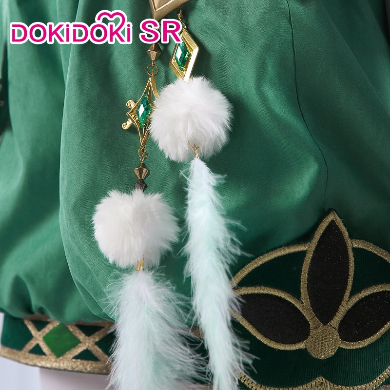 PRE-SALE DokiDoki-SR Game Genshin Impact  Cosplay Halloween Venti Cosplay Genshin Impact Venti  Cosplay 3