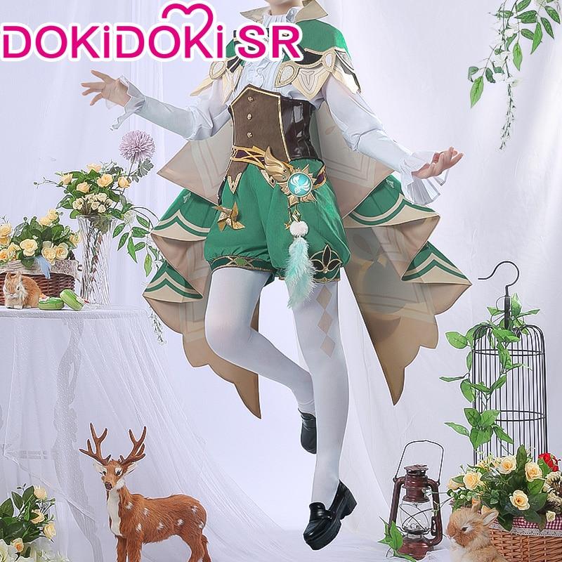 PRE-SALE DokiDoki-SR Game Genshin Impact  Cosplay Halloween Venti Cosplay Genshin Impact Venti  Cosplay 1