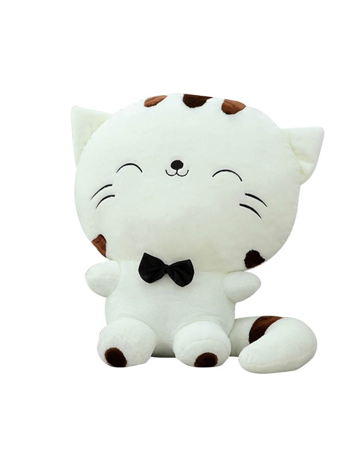 20CM Cute Kawaii Cat with Bow Plush Dolls Toys Gift Stuffed Soft Doll Cushion Sofa Pillow Gifts Xmas Gift Party Decor 6
