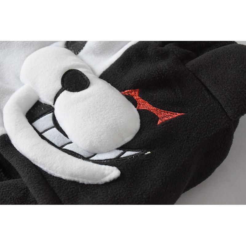 YESKIGU Monokuma Kigurumis Adult Onesie Anime Bear Jumpsuit Pajama Black White Animal Outfit Women Men Party Suit Winter Overall 6
