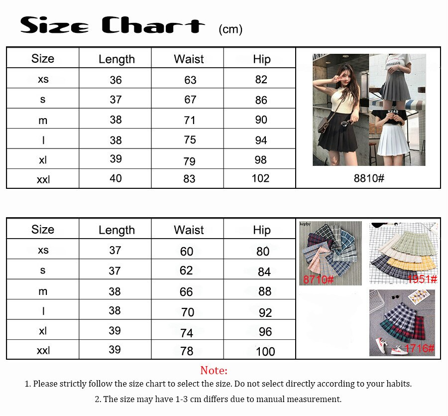 Women Pleat Skirt Harajuku Preppy Style Plaid Skirts Mini Cute Japanese School Uniforms Ladies Jupe Kawaii Skirt Saia Faldas 6