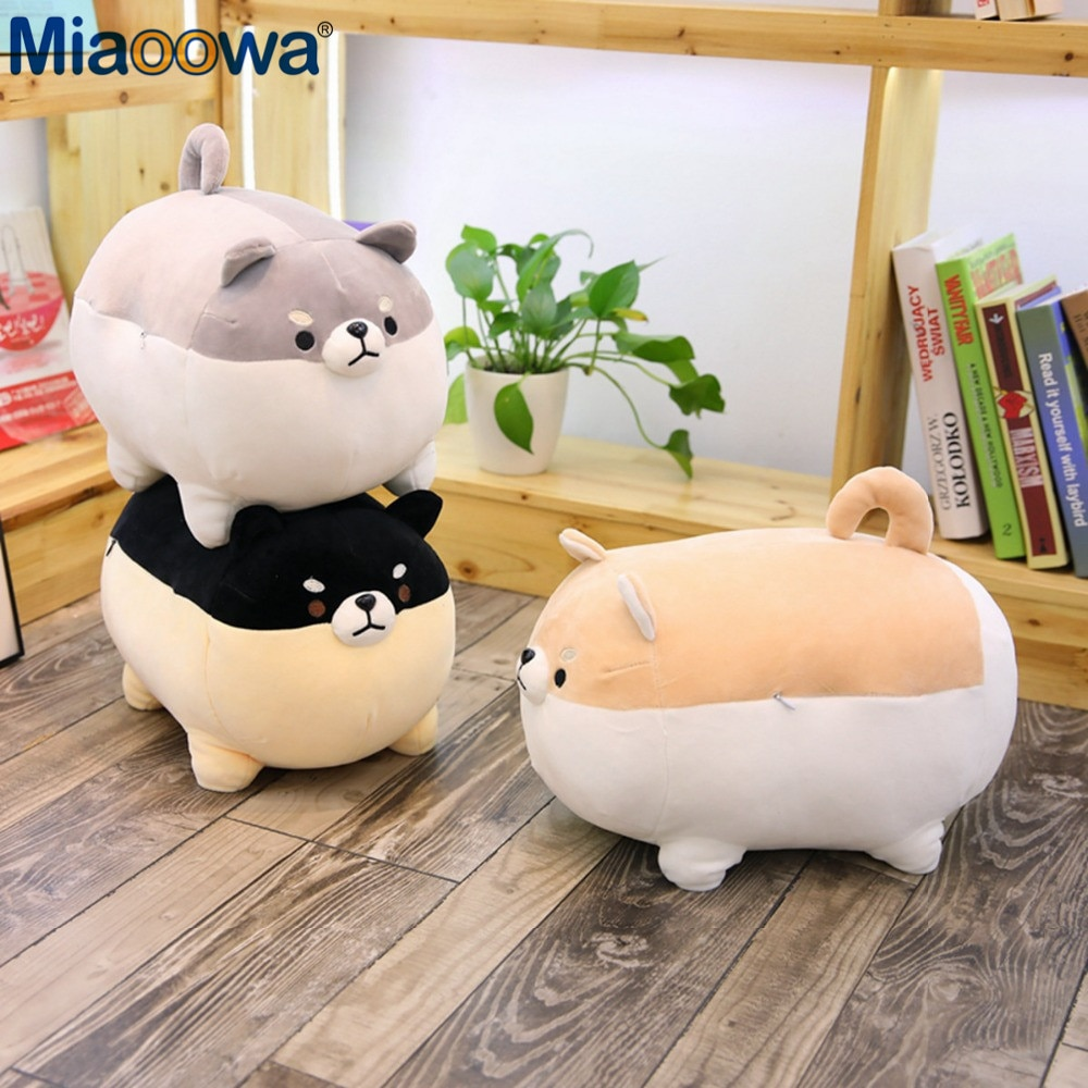 New 40/50cm Cute Shiba Inu Dog Plush Toy Stuffed Soft Animal Corgi Chai Pillow Christmas Gift for Kids Kawaii Valentine Present 1