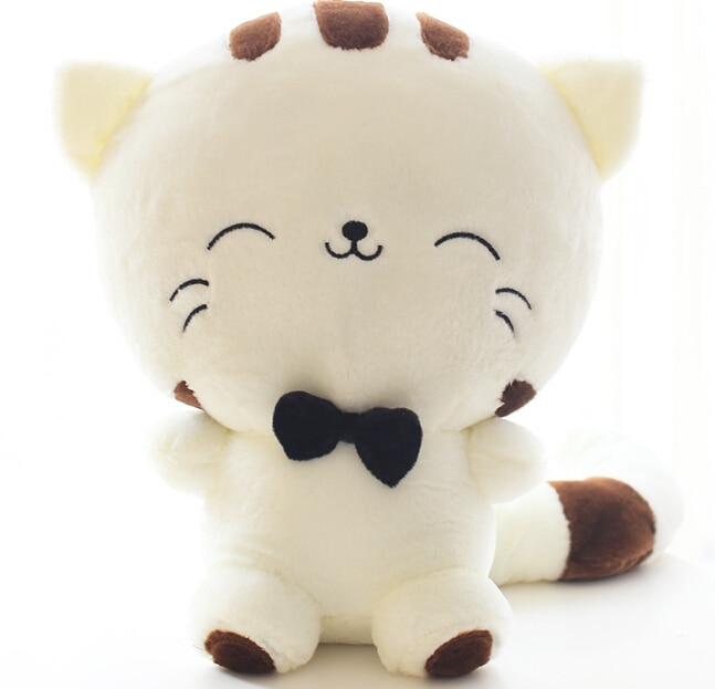 20CM Cute Kawaii Cat with Bow Plush Dolls Toys Gift Stuffed Soft Doll Cushion Sofa Pillow Gifts Xmas Gift Party Decor 3