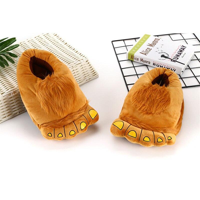 Animal Slippers Kid Kigurumis kawaii Shoes Cartoon Cute Monster Home Supplies Cosplay Shoes Adult Winter Warm Pajama Shoes 2