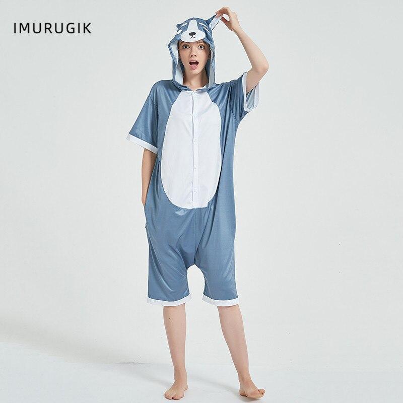 Halloween Costumes Kigurumis Onesie Jumpsuits Husky cosplay Adult Costume Animal Home wear Pajama Funny Cute OneisesCarnival 4