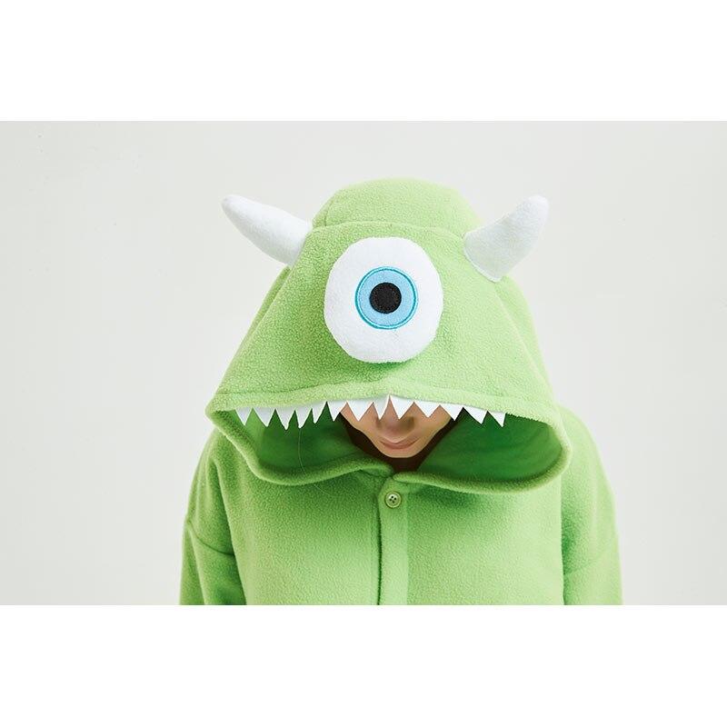 Animal Pajamas Women Men Onesie Anime One Eye Monster Kigurumis Funny Jumpsuit Sleepwear Unisex Adult Winter Festival Pyjamas 4