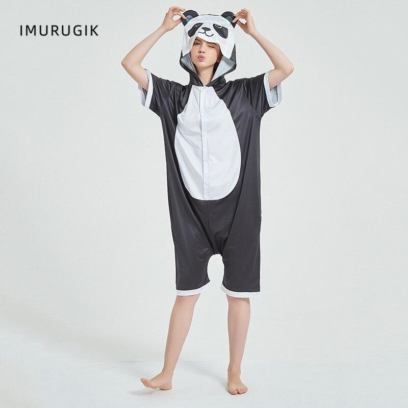 Cosplay Costumes Kigurumis Onesie Jumpsuits Panda Adult Costume Animal Home wear Pajama Funny Cute Oneises Halloween Carnival 2