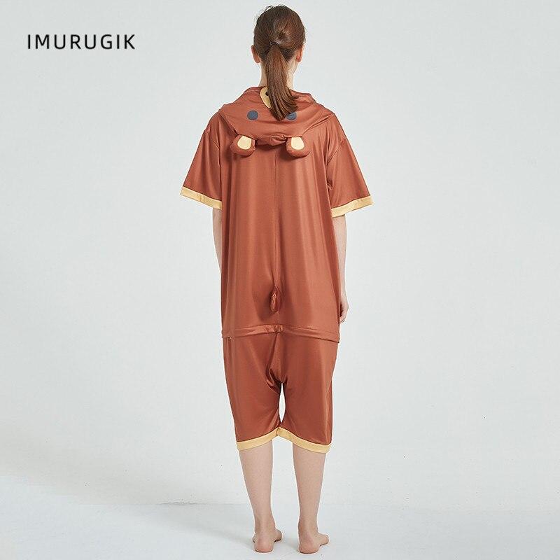 Cosplay Costumes Kigurumis Onesie Jumpsuits Bear Adult Costume Animal Home wear Pajama Funny Cute Oneises Halloween Carnival 2