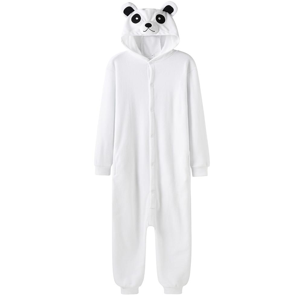 Women Onesie Sleepwear Kigurumis Pajama Animal Bear Funny Rompers Unisex Polar fleece Jumpsuits Homewear  Costume Apparel Femme 1