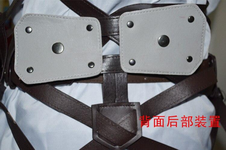 Attack On Titan Japanese Anime Shingeki No Kyojin Recon Corps Harness Belts Hookshot Cosplay Costume Adjustable Belts 6