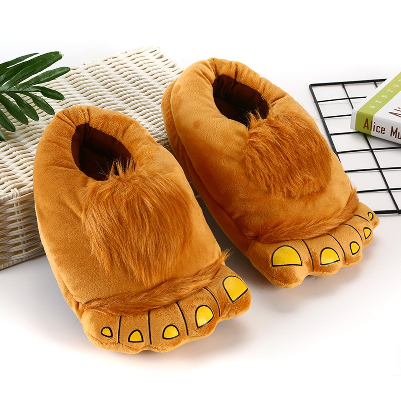 Animal Slippers Kid Kigurumis kawaii Shoes Cartoon Cute Monster Home Supplies Cosplay Shoes Adult Winter Warm Pajama Shoes 1
