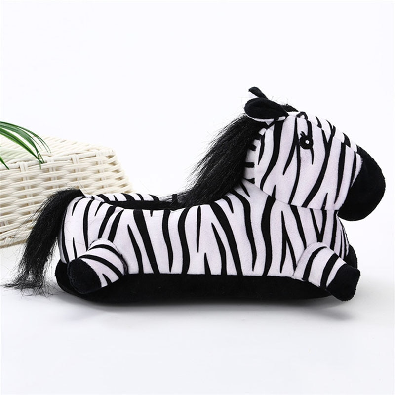 Animal Slippers Adult Kigurumis kawaii Home Shoes Cartoon Cute Unicorn Supplies Cosplay Shoes Winter Warm Pajama Women Shoes 6