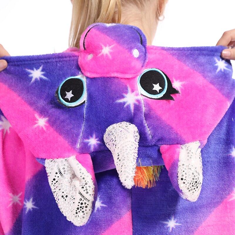 Kigurumis Animal Stars Diamond Pegasus Women Pajama Suit Onesie Homewear Sleepwear Flannel Adult One Piece Pijamas Party Costume 4