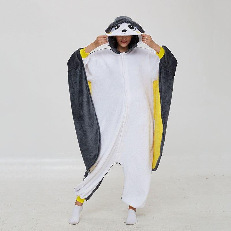 Pika Animal Kigurumis Onesies Women Pajama Homewear Adult Cartoon Elf  Rompers Unisex Flannel Sleepwear Costume Apparel 2