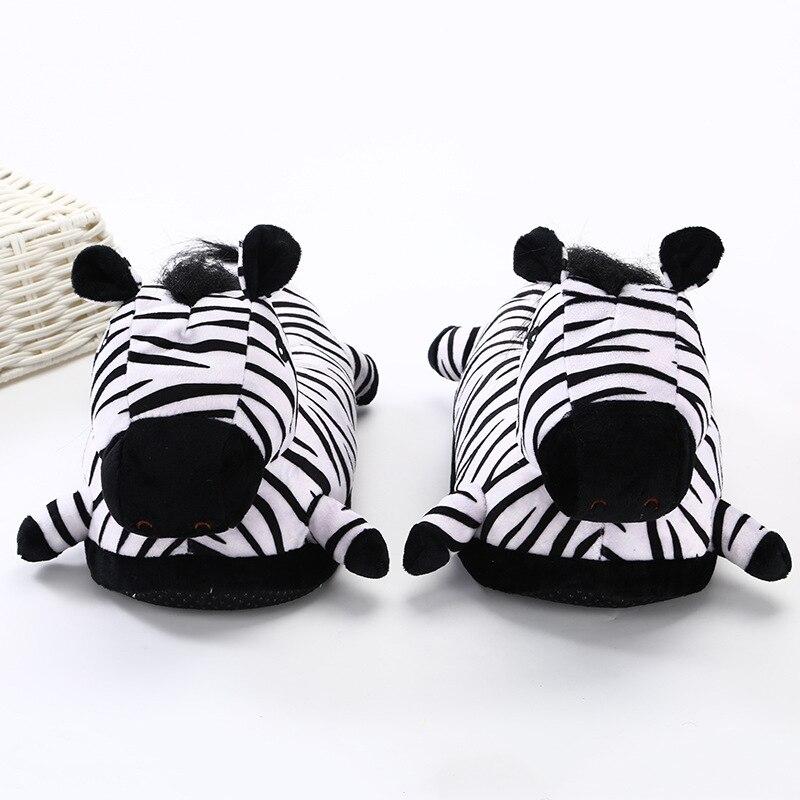 Animal Slippers Adult Kigurumis kawaii Home Shoes Cartoon Cute Unicorn Supplies Cosplay Shoes Winter Warm Pajama Women Shoes 2