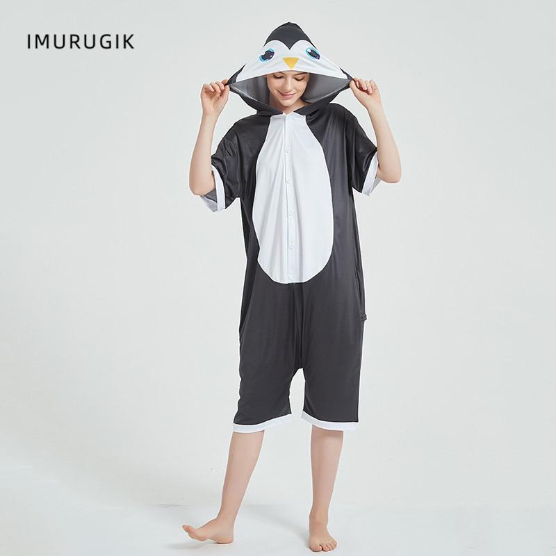Cosplay Costumes Kigurumis Onesie Jumpsuits Penguin Adult Costume Animal Home wear Pajama Funny Cute Oneises Halloween Carnival 1
