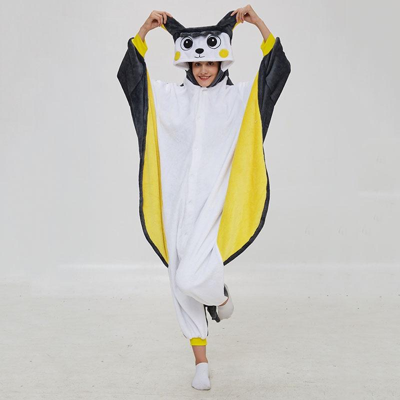 Pika Animal Kigurumis Onesies Women Pajama Homewear Adult Cartoon Elf  Rompers Unisex Flannel Sleepwear Costume Apparel 1