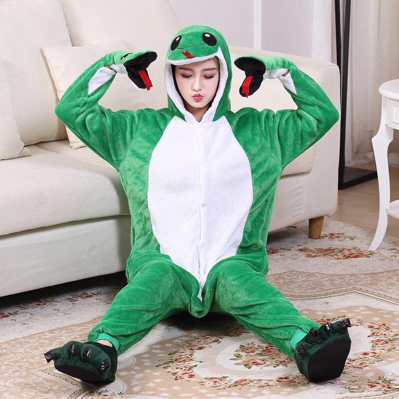 kigurumis Onesie women Pajama Animal Snake Onesies Homewear  Cosplay Jumpsuit Party Costume Unisex Carnival Funny  Clothing 5