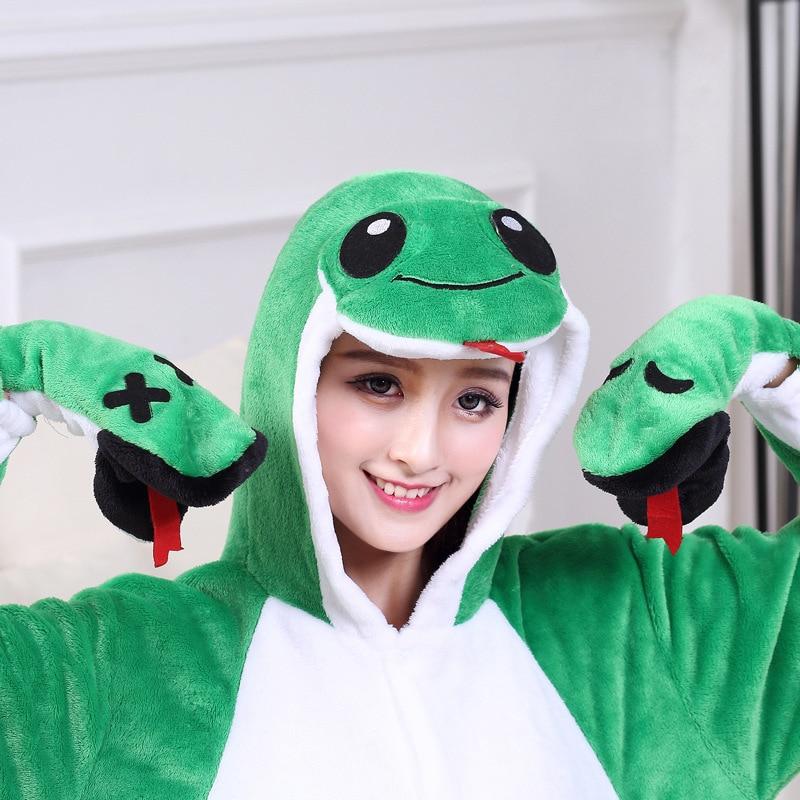 kigurumis Onesie women Pajama Animal Snake Onesies Homewear  Cosplay Jumpsuit Party Costume Unisex Carnival Funny  Clothing 1