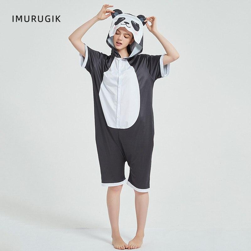 Cosplay Costumes Kigurumis Onesie Jumpsuits Panda Adult Costume Animal Home wear Pajama Funny Cute Oneises Halloween Carnival 5