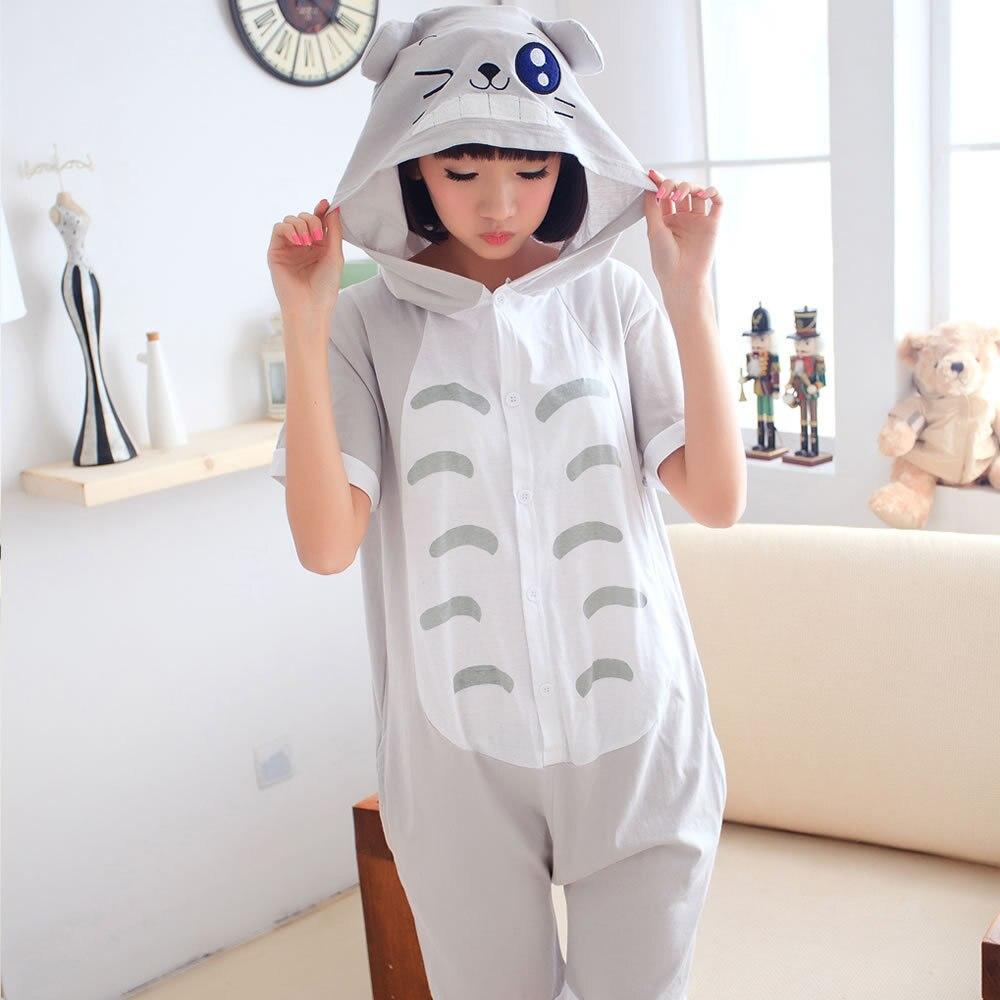 Women Pajama Kigurumis Animal Cotton Short Sleeve tigger Onesie Kawaii Funny  Women Onesies Pyjamas One Piece Pajamas Adults 1