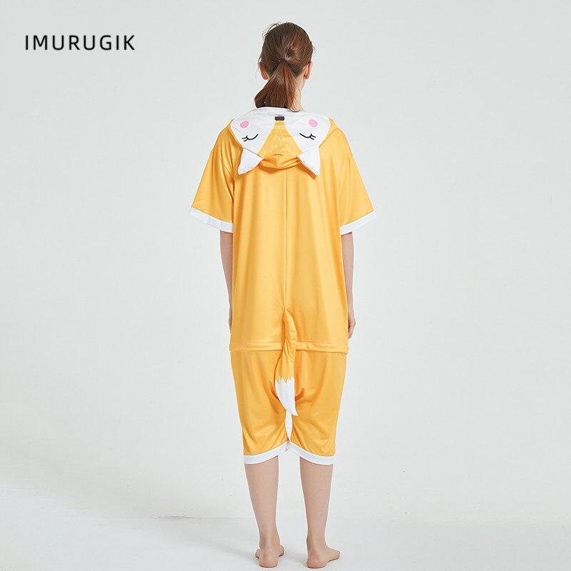 Halloween Costumes Kigurumis Onesie Jumpsuits Fox Cosplay Adult Costume Animal Home wear Pajama Funny Cute OneisesCarnival 3