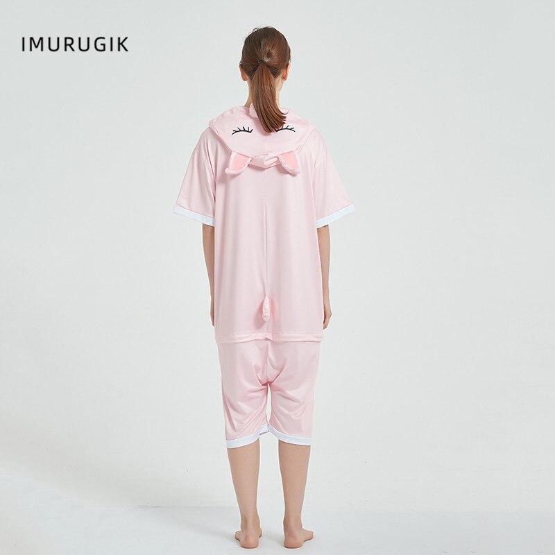 Halloween Costumes Kigurumis Onesie Jumpsuits Pink Pig cosplay Adult Costume Animal Home wear Pajama Funny Cute OneisesCarnival 3