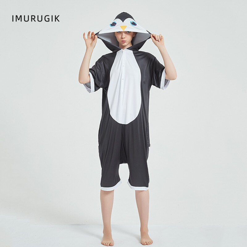 Cosplay Costumes Kigurumis Onesie Jumpsuits Penguin Adult Costume Animal Home wear Pajama Funny Cute Oneises Halloween Carnival 5