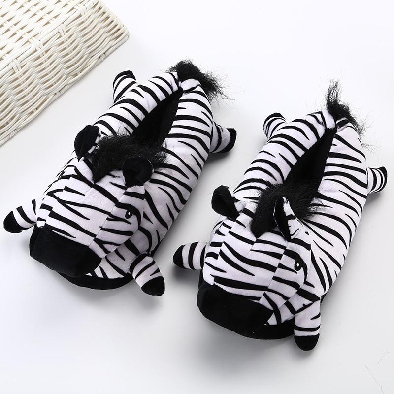 Animal Slippers Adult Kigurumis kawaii Home Shoes Cartoon Cute Unicorn Supplies Cosplay Shoes Winter Warm Pajama Women Shoes 1