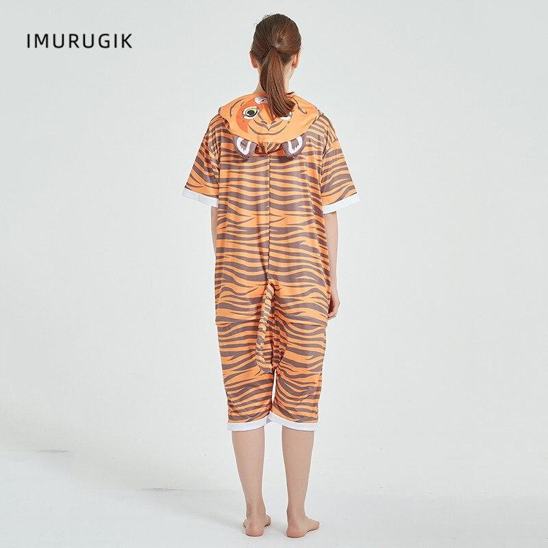 Cosplay Costumes Kigurumis Onesie Jumpsuits Tiger Adult Costume Animal Home wear Pajama Funny Cute Oneises Halloween Carnival 2