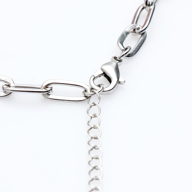 Charm Bracelets Jewelry Stainless Steel Animal Accessories Korean Bracelets for Women Couple Bracelet Kpop Gift for Girl Friends 6