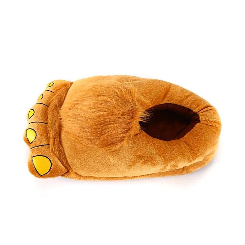 Animal Slippers Kid Kigurumis kawaii Shoes Cartoon Cute Monster Home Supplies Cosplay Shoes Adult Winter Warm Pajama Shoes 5